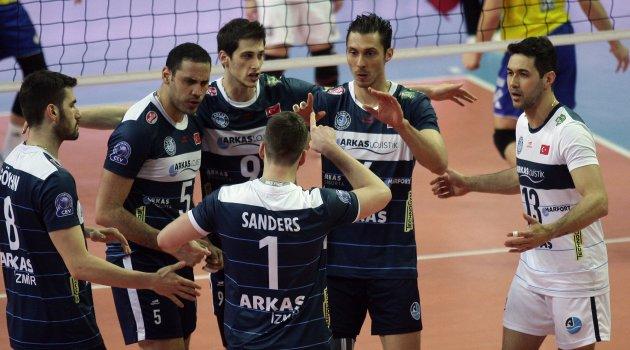 Arkas Spor'un final serisi Ankara'da başlıyor