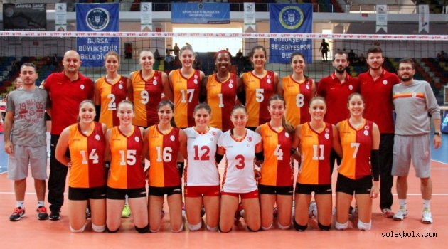 Atom Trefl Sopot:1 - Galatasaray:3