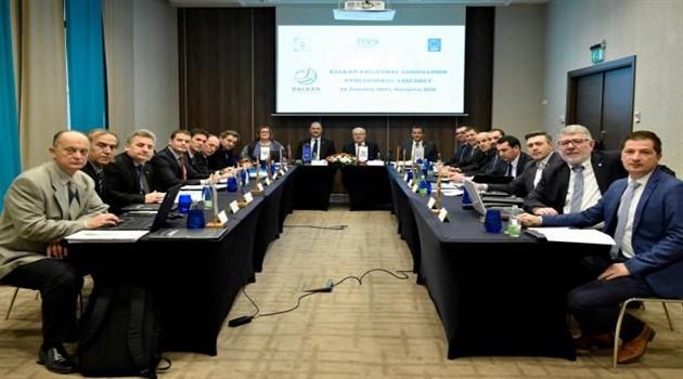 Balkan Voleybol Birliği'nin 18. Genel Kurul Toplantısı Sona Erdi