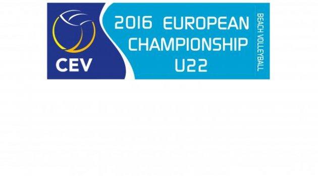 CEV 22 Yaş Altı Avrupa Plaj Voleybolu Şampiyonası'nda 3'üncü Gün Sona Erdi