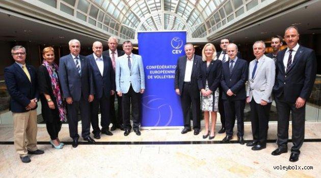 CEV Bölgesel Birlikleri toplantısı gerçekleştirildi