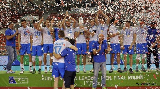 Erkekler Avrupa Ligi'nde şampiyon Slovenya