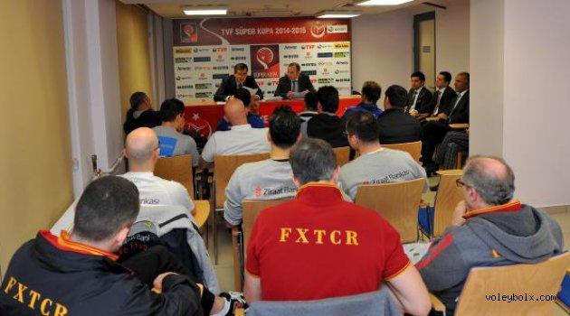 Erkekler Süper Kupa Dörtlü Finali teknik toplantısı yapıldı