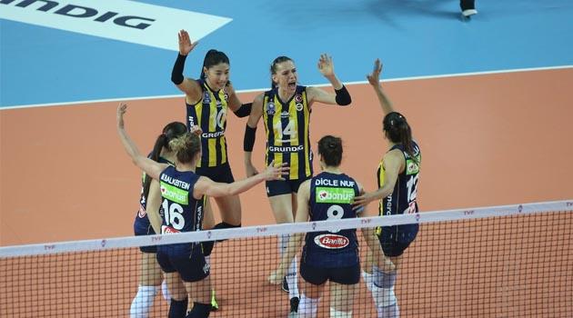 Fenerbahçe Set Vermeden 1-0 Önde