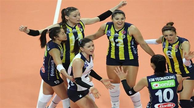 Fenerbahçe Set Vermeden Kazandı