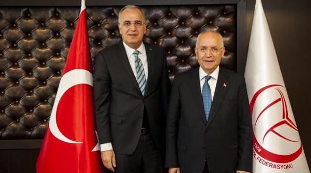 Fethi Yaşar'dan Üstündağ'a Ziyaret