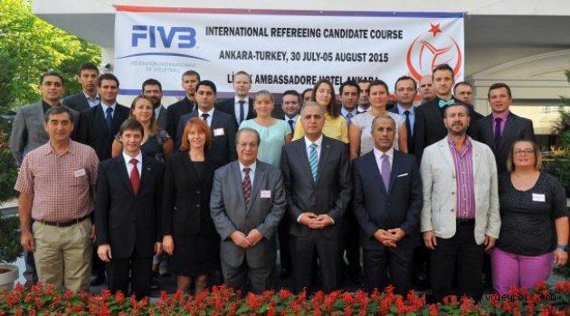 FIVB Uluslararası Aday Hakem Kursuna Ankara ev sahipliği yapıyor