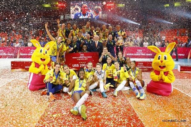 FIVB World Grand Prix 2016 1'inci Grup'ta Brezilya Şampiyon Oldu