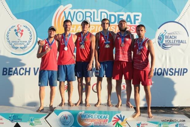 İşitme Engelliler Dünya Şampiyonaları Plaj Voleybolu Kategorisinde Şampiyonlar Belli Oldu