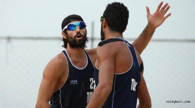 Murat - Volkan ikilisi Pescara 2015'te yarı finale yükseldiler