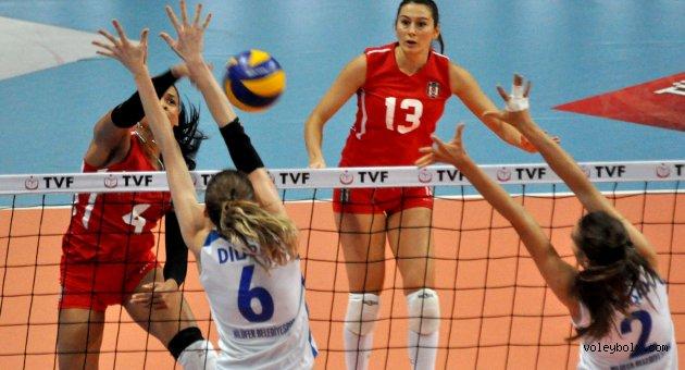 Nilüfer Belediyespor: 3 - Beşiktaş: 1 (FOTO)