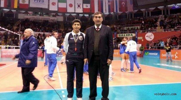 Nurper Özbar U18 Bayanlar Dünya Şampiyonası finalinde görev aldı