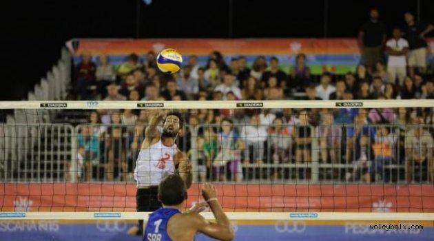 Pescara 2015'te Murat Giginoğlu - Volkan Göğtepe ikilisi finalde