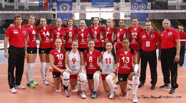 Saratov:3 - Bursa Büyükşehir Belediyesi:0