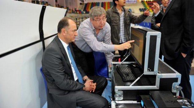 TVF Başkanı Özkan Mutlugil GDS'yi inceledi