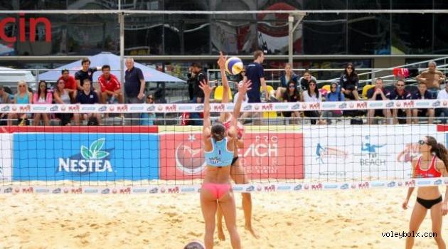 TVF Pro Beach Tour Nestea İzmir Open başladı