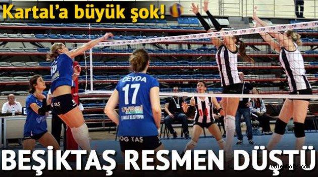Ve Beşiktaş Bayan Voleybol Takımı küme düştü