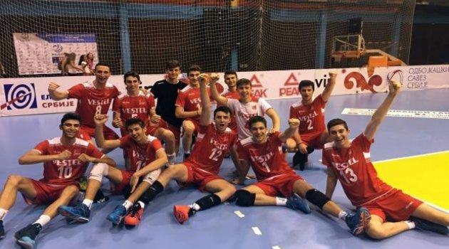 Millilerimiz Balkan Şampiyonası'nda Yarı Finalde
