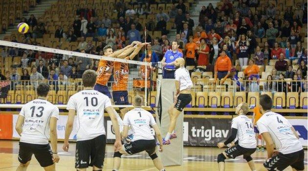 Slovenya'da ACH Volley bir adım öne geçti: 2-1