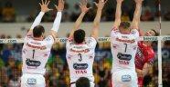 İtalya'da play-off yarı final ilk maçlarını, Trentino ve Modena kazandı...