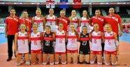 Bayan Milli Takımımız Avrupa Ligi yarı finali için İsrail'e gitti