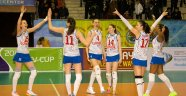 Dinamo Krasnodar ve Trefl SOPOT CEV Kupası Finali'nde...