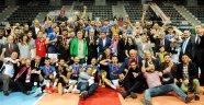 Erkekler Voleybol 1.Ligi'nin Şampiyonu Torul Gençlik