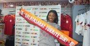 Galatasaray'da Cursty Jackson imzayı attı