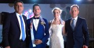 Halkbank ailesinde düğün
