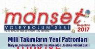 Manset Voleybolun Sesi Dergisi 128.kez Raflarda