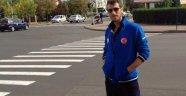 Sercan Abanoz, Piraeus Atina takımında...