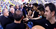 Üstündağ'dan U19 Erkek Takımımız'a Ziyaret