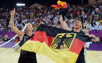 Brink-Reckermann Olimpiyat Şampiyonu!...