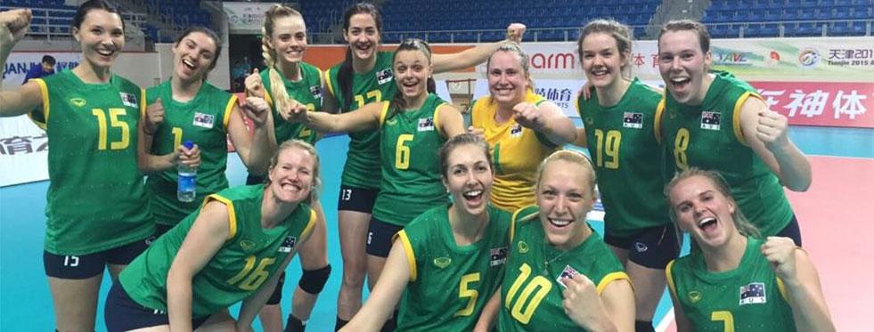 18. Asya Bayanlar Voleybol Şampiyonası start aldı..