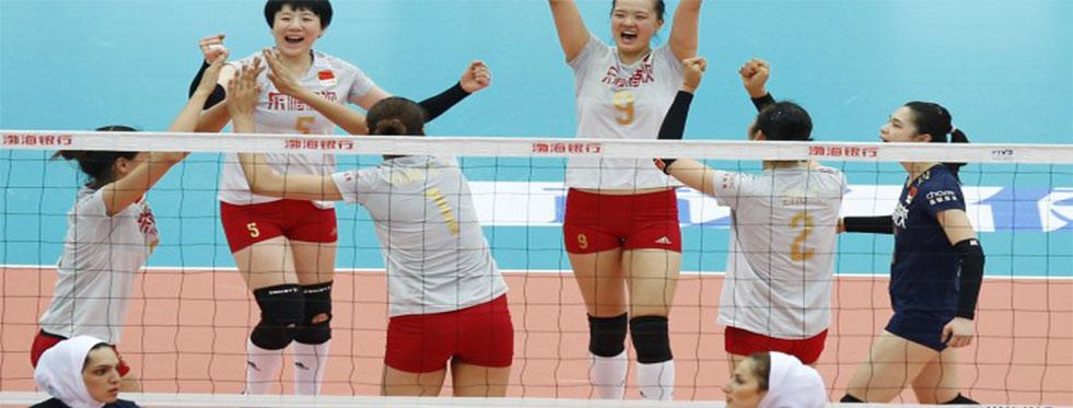 18. Asya Bayanlar Voleybol Şampiyonası'nda 4. maçlar oynandı...