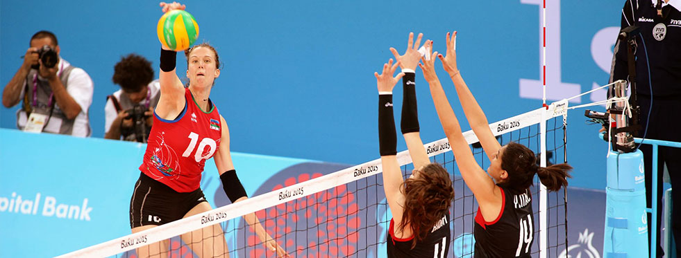 2015 Avrupa Oyunları'nda çeyrek finaldeyiz