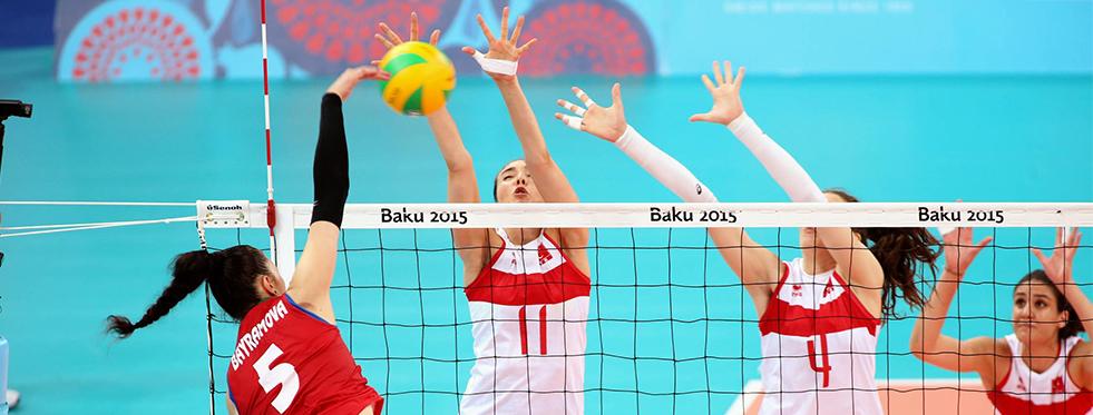 2015 Avrupa Oyunları'nda finaldeyiz