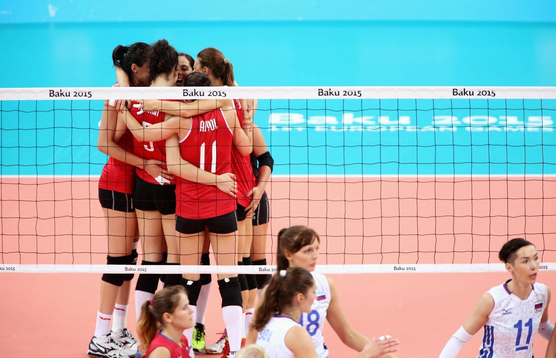 2015 Avrupa Oyunları'nda yarı finaldeyiz