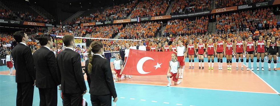 2015 CEV Avrupa Şampiyonası'nı 4. sırada bitirdik