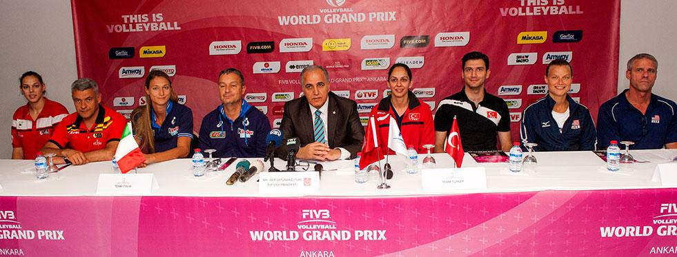 2015 FIVB Dünya Grand Prix'i C Grubu basın toplantısı yapıldı