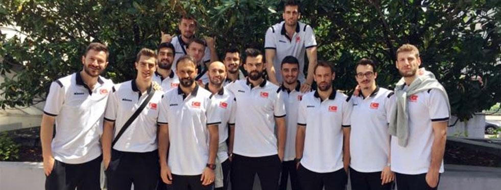 A Erkek Milli Takımımız, Dünya Şampiyonası Avrupa Kıta Elemeleri İçin Lyon'da
