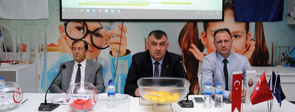 Altyapılar Türkiye Şampiyonası, Gençler ve Küçükler Teknik Toplantısı Yapıldı