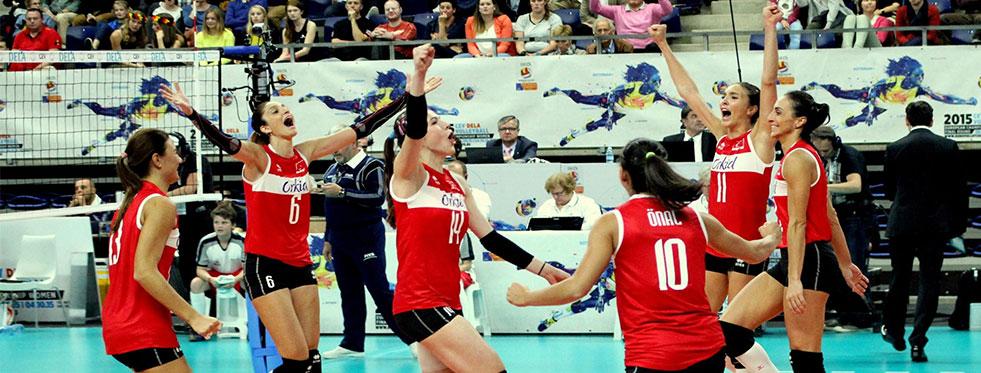 Avrupa Şampiyonası'na galibiyetle başladık: Türkiye:3 - Azerbaycan:0