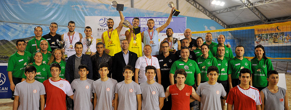 Balkan Plaj Voleybolu Kış Turu 1. Etabı'nda şampiyonlar belli oldu