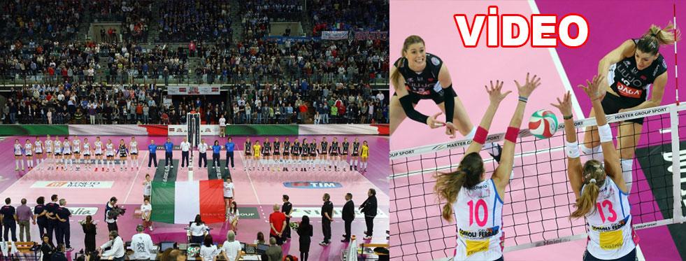 Bayanlar İtalya Kupası Finali (VİDEO)