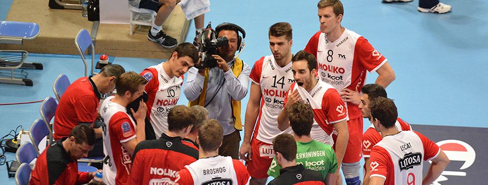 Belçika'da Noliko Maaseik - Antwerpen'i 3-2 yendi...