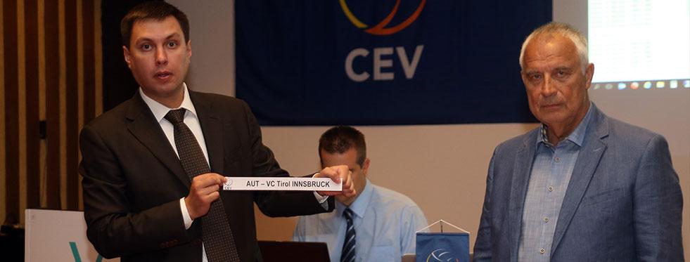 CEV Challenge Cup ve CEV Cup'taki Rakiplerimiz Belli Oldu