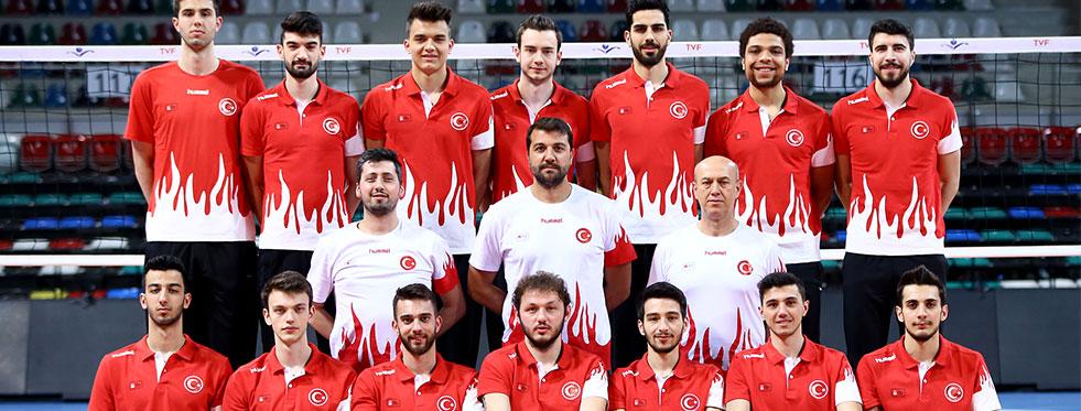 Erkek Milli Takımımız Azerbaycan'da Yarı Finalde