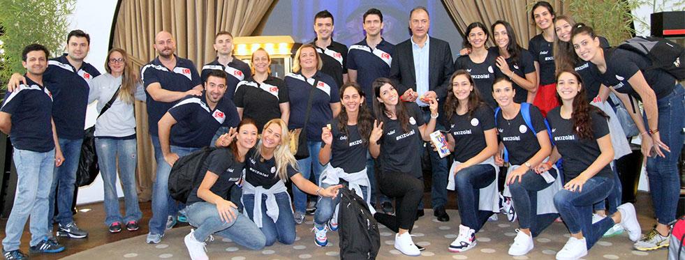 Filenin Sultanları 2015 Avrupa Şampiyonası için Belçika'ya gitti