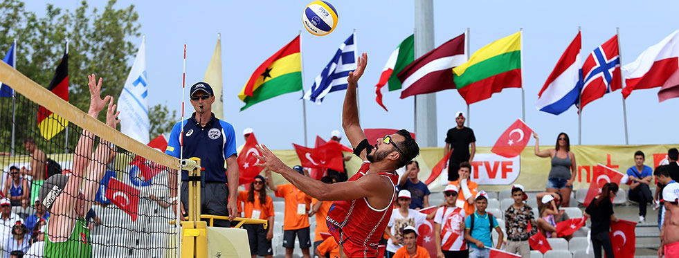 FIVB World Tour Antalya Open 2016'da 4'üncü Gün Geride Kaldı